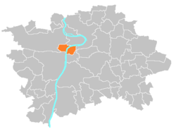 Location map municipal district Prague - Praha 1.PNG