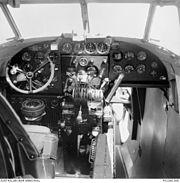 Lockheed Hudson cockpit