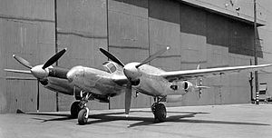 Lockheed XP-49 - Image: Lockheed XP 49 061023 F 1234P 002