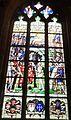 Locronan 019 Eglise Saint-Ronan Vitrail Scène de bataille.JPG