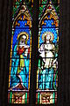 Lodève cathedral Saint-Fulcrain stained glass window383.JPG
