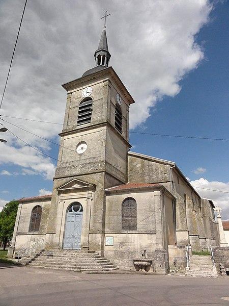 Loisey (Meuse) église churches in Meuse