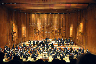 Barbican Centre - Image: London Barbican Hall LSO a