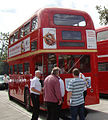 London Transport Museum Routemaster prototype RM1 (SLT 56), Upminster tube depot 50th anniversary open weekend (2).jpg