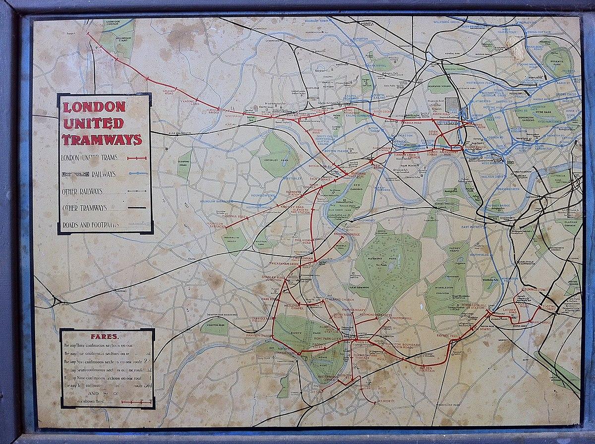 London United Tramways Wikipedia