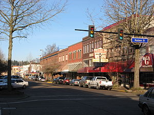 Longview, Washington - Downtown Longview