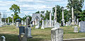 Looking N across section B - Glenwood Cemetery - 2014-09-14.jpg