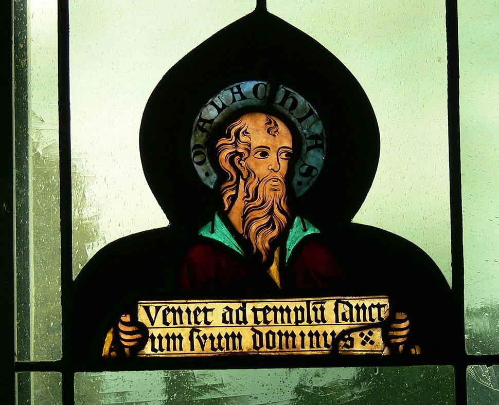 Lorch St.Laurenz - Fenster 2 Malachias