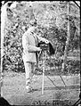 Lord Dunlo in garden with stereo camera (28609666392).jpg