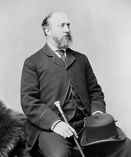 Frederick Stanley, 16th Earl of Derby 19th and 20th-century British politician and Governor General of Canada