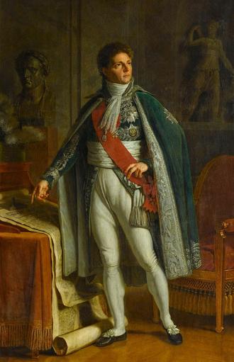 Louis-Alexandre Berthier - Portrait of Berthier, painted in 1808