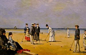 Louise Abbéma - Image: Louise Abbéma A Game of Croquet