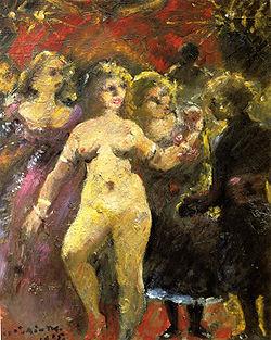 Lovis Corinth Die schoene Frau Imperia 1925.jpg