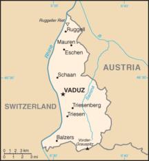 リヒテンシュタイン-地方行政区分-Ls-map