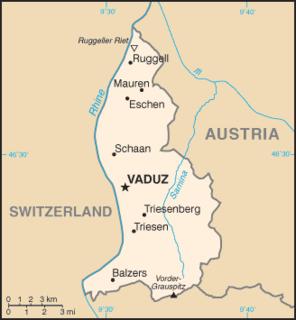 Geography of Liechtenstein