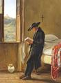 Lucie Ingemann - Kopi af Den læsende abate - 1844.png