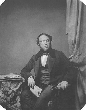 Baron Karl Ludwig von der Pfordten - Ludwig von der Pfordten, ca. 1855