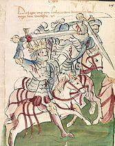 Ludwig III at the Battle of Kulm