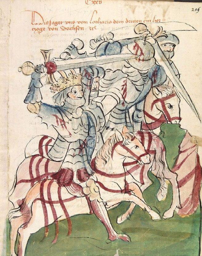 Ludwig III in der Schlacht von Kulm