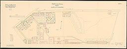 Kaserne für das Luftschiffer-Bataillon, Berlin-Jungfernheide: Lageplan, Feuerstein / CC0