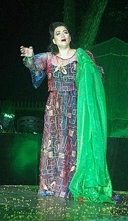 Alegria Ferrer Filipino soprano