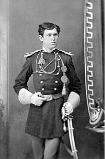 Luther Hare Officer in the 7th U.S. Cavalry