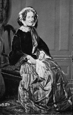 Lydia Sigourney - Sigourney, photographed by Mathew Brady