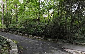 Lynncote - Lynncote landscape, September 2012