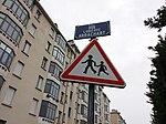 Lyon 8e - Rue Ludovic Arrachart, plaque.jpg