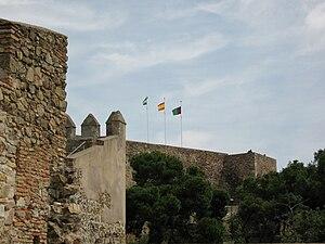 Südostseite des Castillo de Gibralfaro