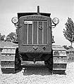 Mátyásföld, Újszász utca 41-43. Magyar Királyi Honvéd gépkocsiszertár, szovjet gyártmányú S-65 Sztalinyec traktor. Fortepan 72457.jpg