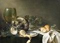 Målning. Måltidsstycke. Wilhelm Claesz Heda - Hallwylska museet - 86728.tif