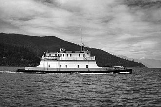 SS Island Princess - Cy Peck in BC Ferries livery (1962)