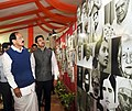M. Venkaiah Naidu visiting after inaugurating the photo exhibition, during the 'Bharat Parv', organised by the Government of India as part of the Independence Day celebrations from 12th to 18th August, 2016, at Rajpath Lawns (4).jpg