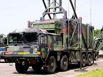 MAN SX - Photographed at Gilze-Rijen Air Base, the Netherlands, a MAN SX 8x8