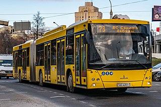MAZ-215 Low-floor bus from MAZ