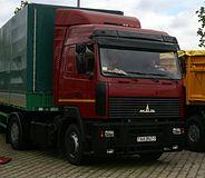 A Maz 5440 In Minsk Belarus