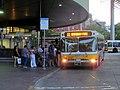 MBTA route 111 bus at Haymarket, July 2015.JPG