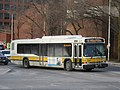 MBTA route 99 bus in Malden, March 2017.jpg