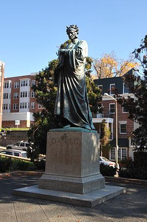 Meridian Hill Park - Statue of Dante