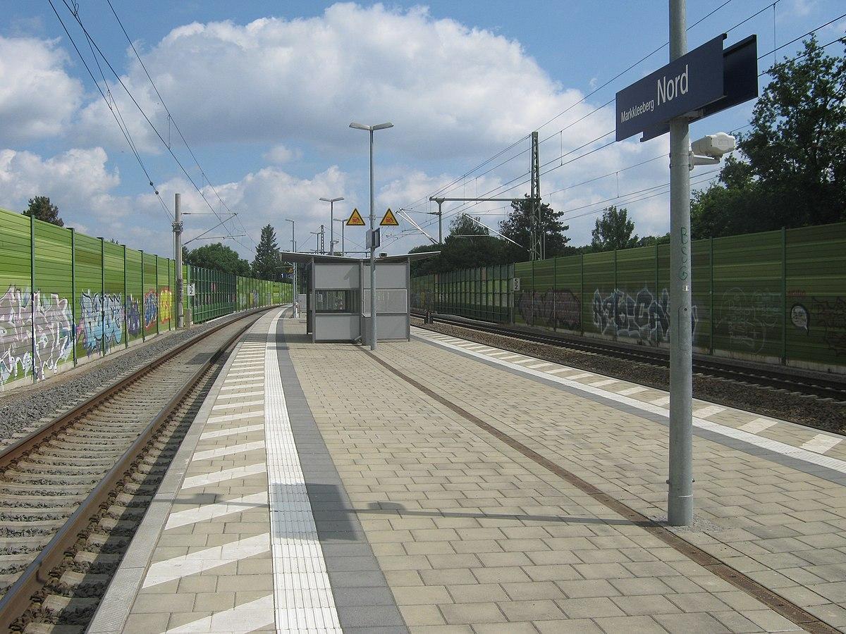 Markkleeberg nord railway station wikipedia.