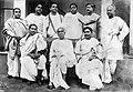 M N Saha, J C Bose, J C Ghosh, Snehamoy Dutt, S N Bose, D M Bose, N R Sen, J N Mukherjee, N C Nag.jpg