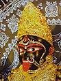 Maa Bhavatarini's face @ Dakshineshwar Kali Temple.JPG