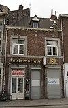 foto van Huis ST VRBANE met lijstgevel.
