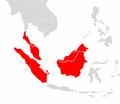 Macaca nemestrina range map.png