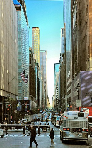 Madison Avenue, looking north from 40th Street