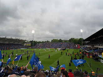Leinster Rugby - The RDS Arena before the 2010 Celtic League Final.
