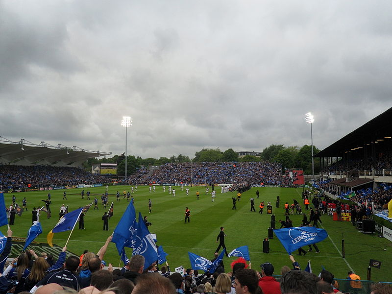 File:Magners Cup final Coming on the field2.jpg