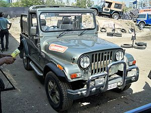Mahindra Thar - 2012 Mahindra Thar 4X4 at Autocar Performance Car Show in Mumbai.
