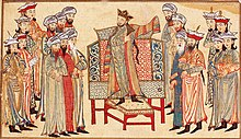 Mahmud in robe from the caliph.jpg